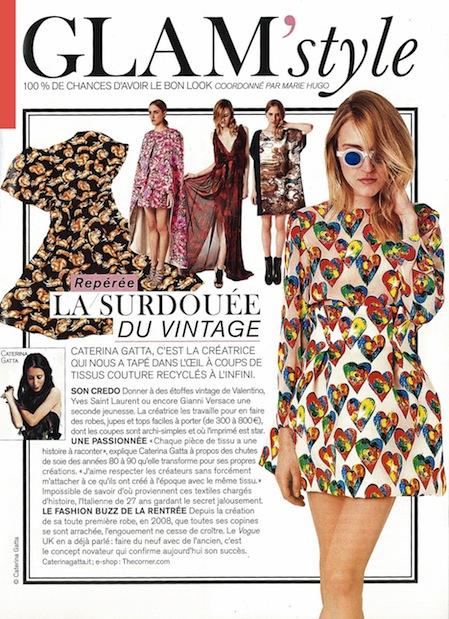 Glamour Francia Caterina Gatta