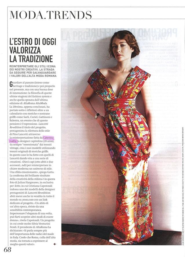 Sette Corriere Caterina Gatta